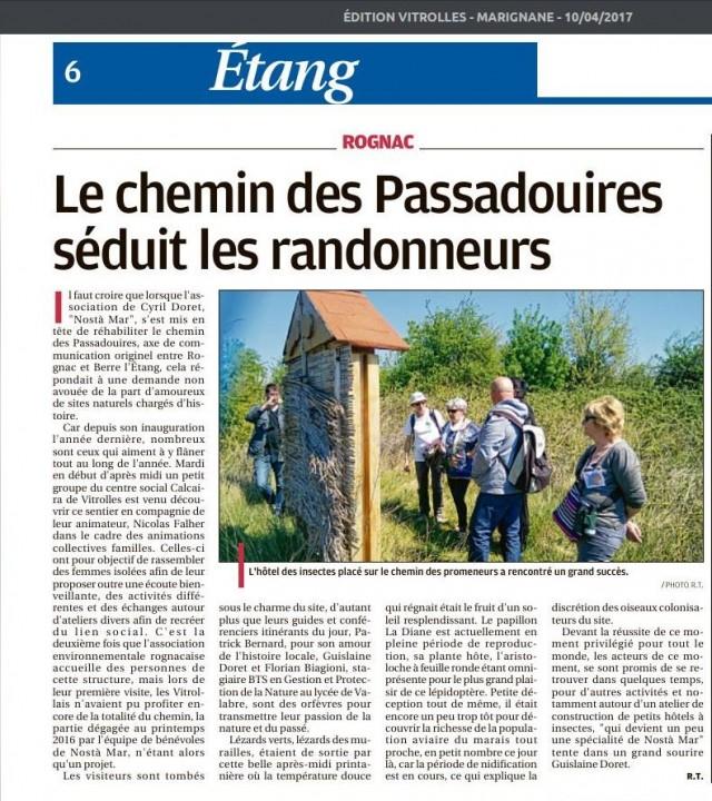 Visite calcaira 100417 La Provence
